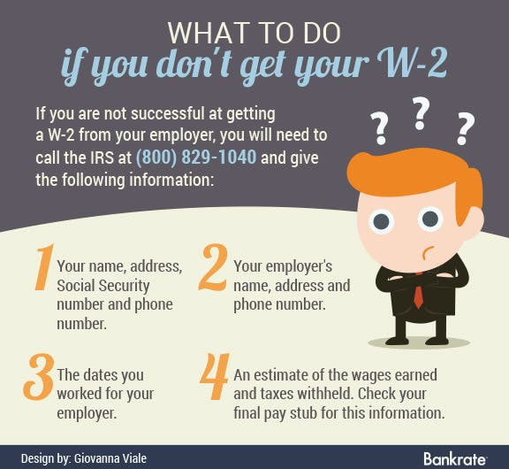 What to do if you don't get your W-2 | Cartoon © Bplanet/Shutterstock.com