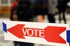 Vote sign © KEVIN LAMARQUE/Reuters/Corbis