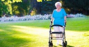Senior woman walking in field   FamVeld/Getty Images