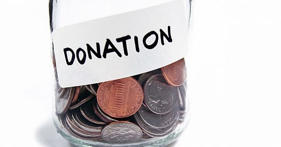 Charitable donations are tax-deductible © June Reed / Fotolia