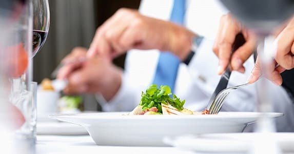 Meals, entertainment are tax-deductible © Yuri Arcurs / Fotolia