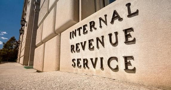 IRS building sign | Pgiam/Getty Images