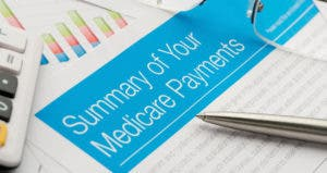 Summary of your Medicare payments