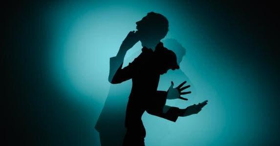Silhouette of man, screaming | Henrik Sorensen/DigitalVision/Getty Images