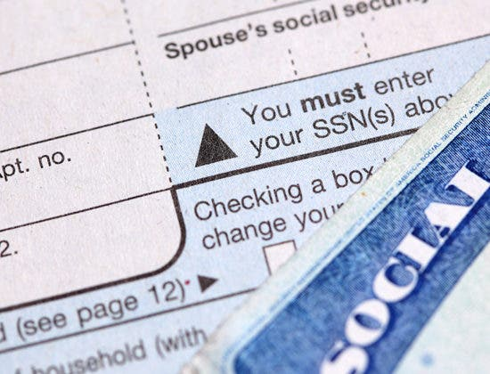 Name and social security number must match on taxes ccuart Images