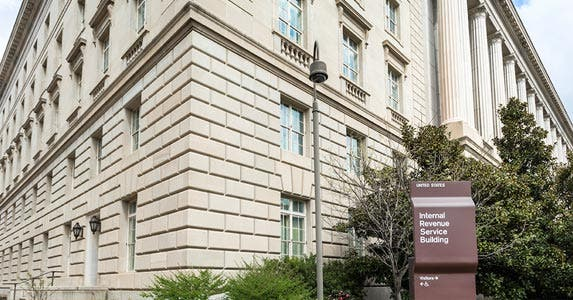 IRS collecting new information | Dwight Nadig/E+/Getty Images