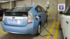 Prius car charging