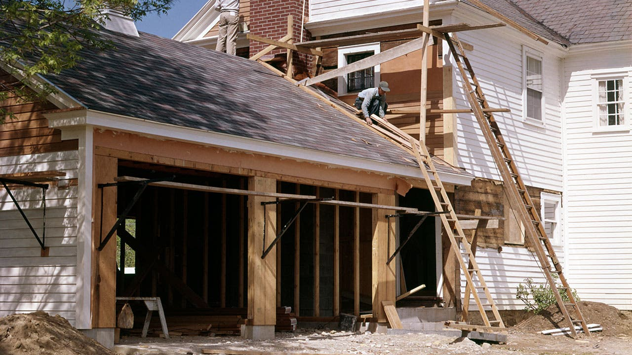 How Much Does It Cost To Build A Garage | Bankrate.com How Much Does It Cost To Build A Garage on 2 car garage, best paint for inside garage, ultimate garage, building a garage,