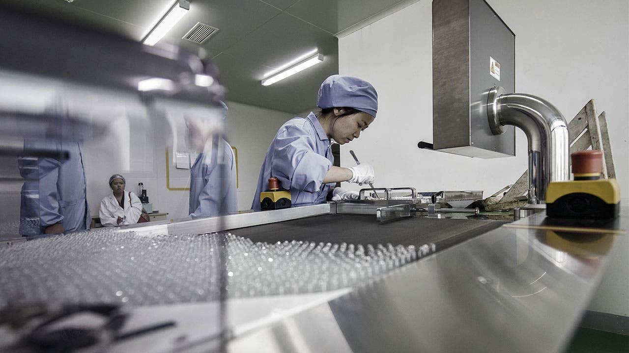 Worker in pharmaceutical sciences