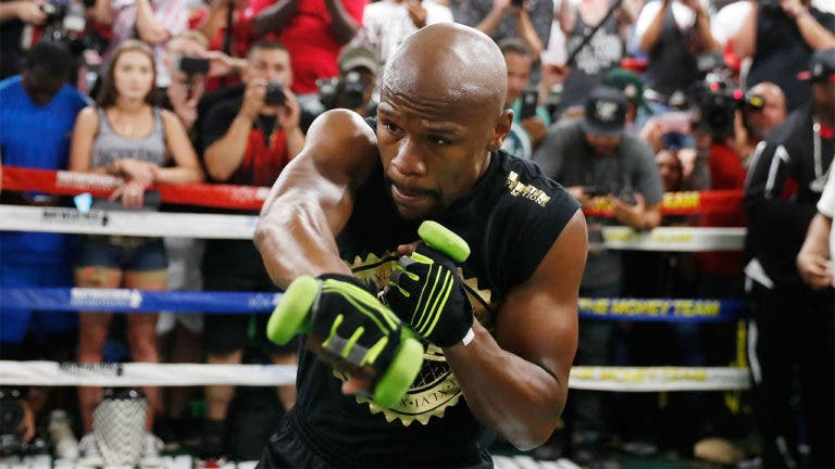 Floyd Mayweather's net worth is $400 million