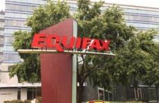 Headquarter building of Equifax in Atlanta, GA