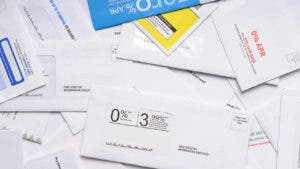Credit card offers by mail