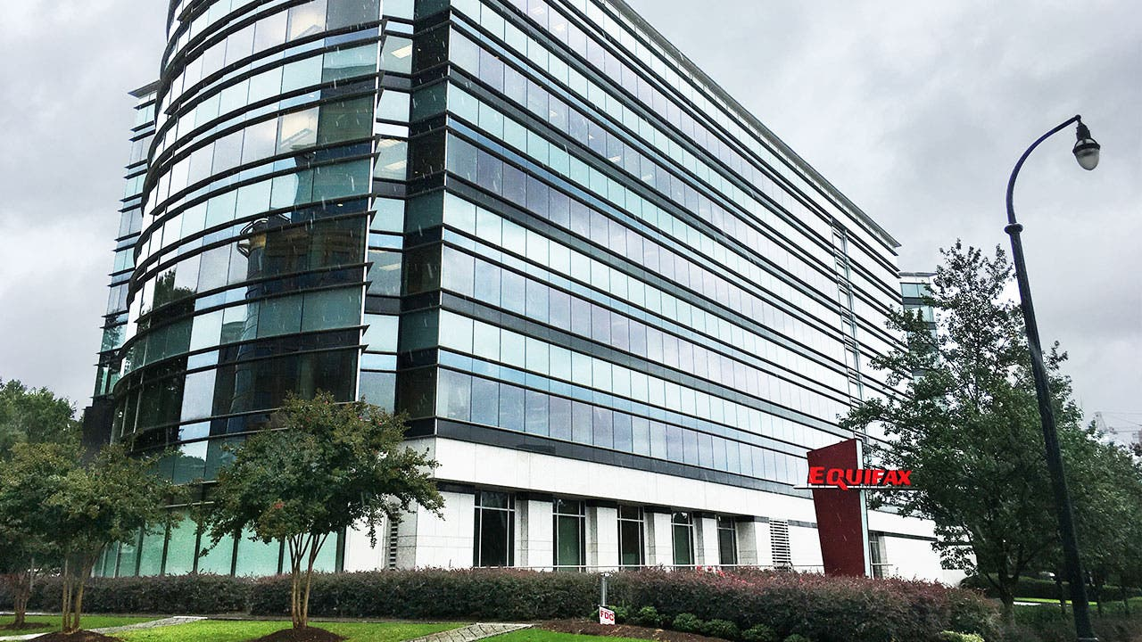 Equifax headquarters building in Atlanta