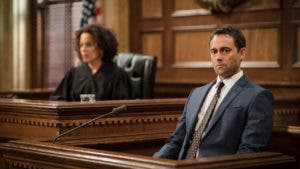 Law and Order court room scene