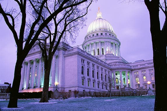 Madison, Wisconsin | Richard Cummins/Getty Images