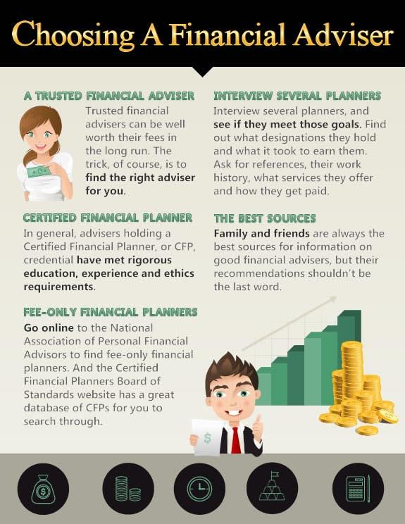 Infographic Choosing A Financial Adviser