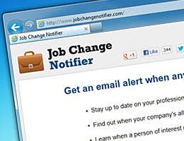 Job Change Notifier