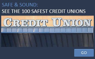 Safe & Sound: See the 100 safest credit unions
