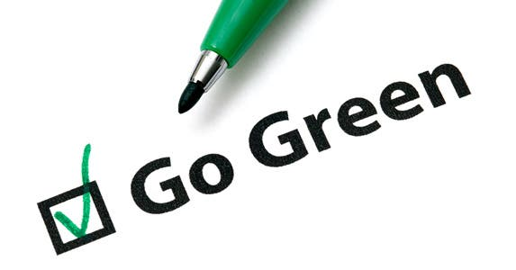 Green cars, green jobs, now green checking © leungchopan/Shutterstock.com