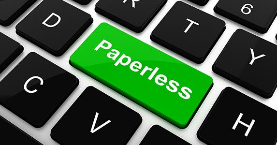 Go paperless with your account? © soliman design/Shutterstock.com