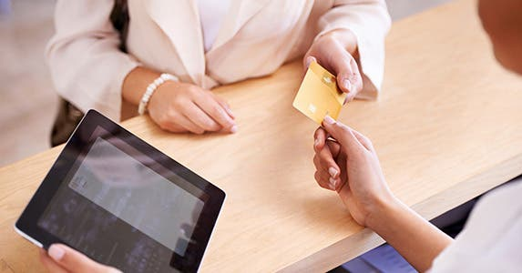 Be sure to budget for card fees © iStock