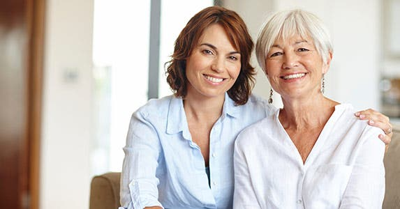 Caring for an older adult © iStock
