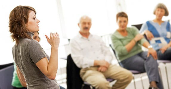 Get caregiver training to take care of yourself © iStock