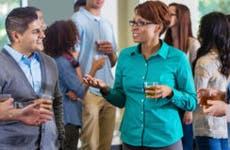 Group of people talking © iStock