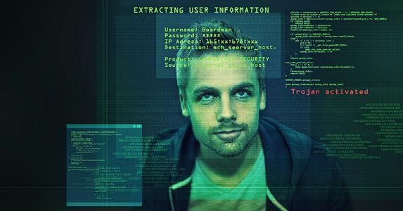 Hacker, cybersecurity breach © iStock