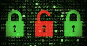 Padlock unlocked depicting data breach or hacking © iStock