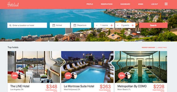 Sign up for discounts | Courtesy of Hotelied.com