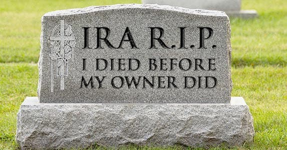 What not to do with your IRA © iStock.com/RiverNorthPhotography