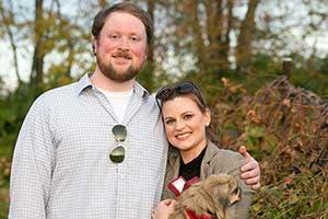 Walt Arnett and his fiancée Beth   Walt Arnett