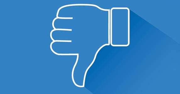 Thumbs down on Facebook   LEOcrafts/Getty Images