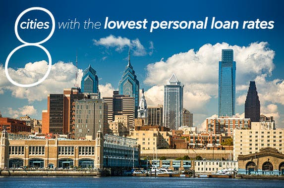 8 cities with the lowest rates on personal loans © iStock