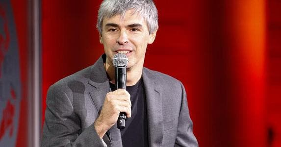 Larry Page | Kimberly White/Getty Images