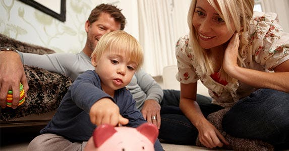 Start saving early | Image Source/Getty Images