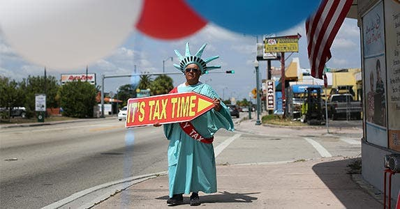 Taxes | Joe Raedle/Getty Images