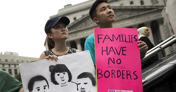Immigration | Drew Angerer/Getty Images