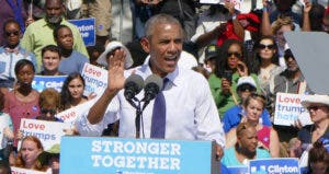 President Obama in Democratic rally | Anadolu Agency/Getty Images