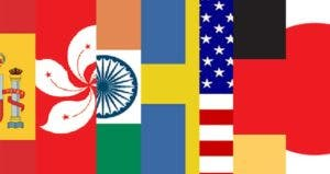 Flags of different countries   Bankrate/Getty Images