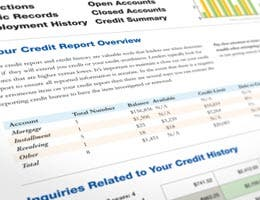 Employers can't see your credit score