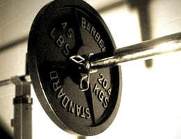 Barbell weights