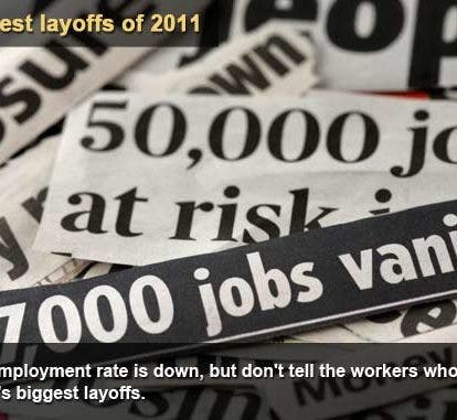 Companies With The Most Job Layoffs In 2011