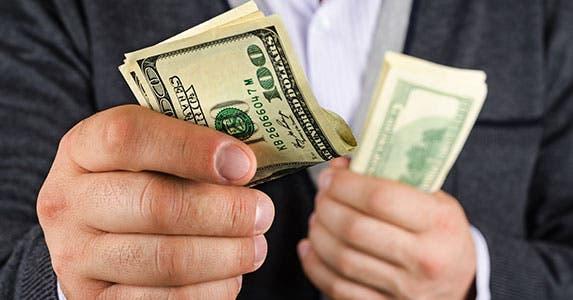 Borrow cash if you can © Mamuka Gotsiridze/Shutterstock.com