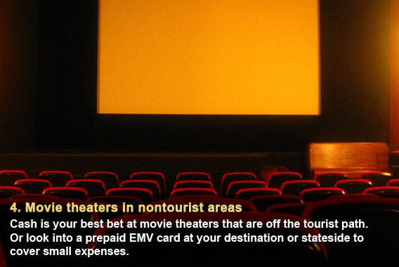 Movie theaters in nontourist areas