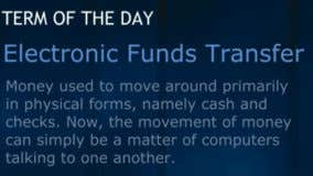 What is an electronic funds transfer?