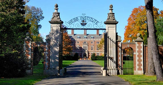 Webb Institute | Photo courtesy of Webb Institute