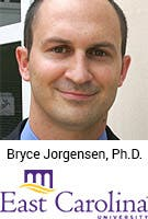 Bryce Jorgensen, Ph.D., East Carolina University, Greenville