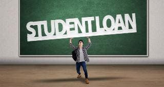 Student loan debt © Creativa/Shutterstock.com